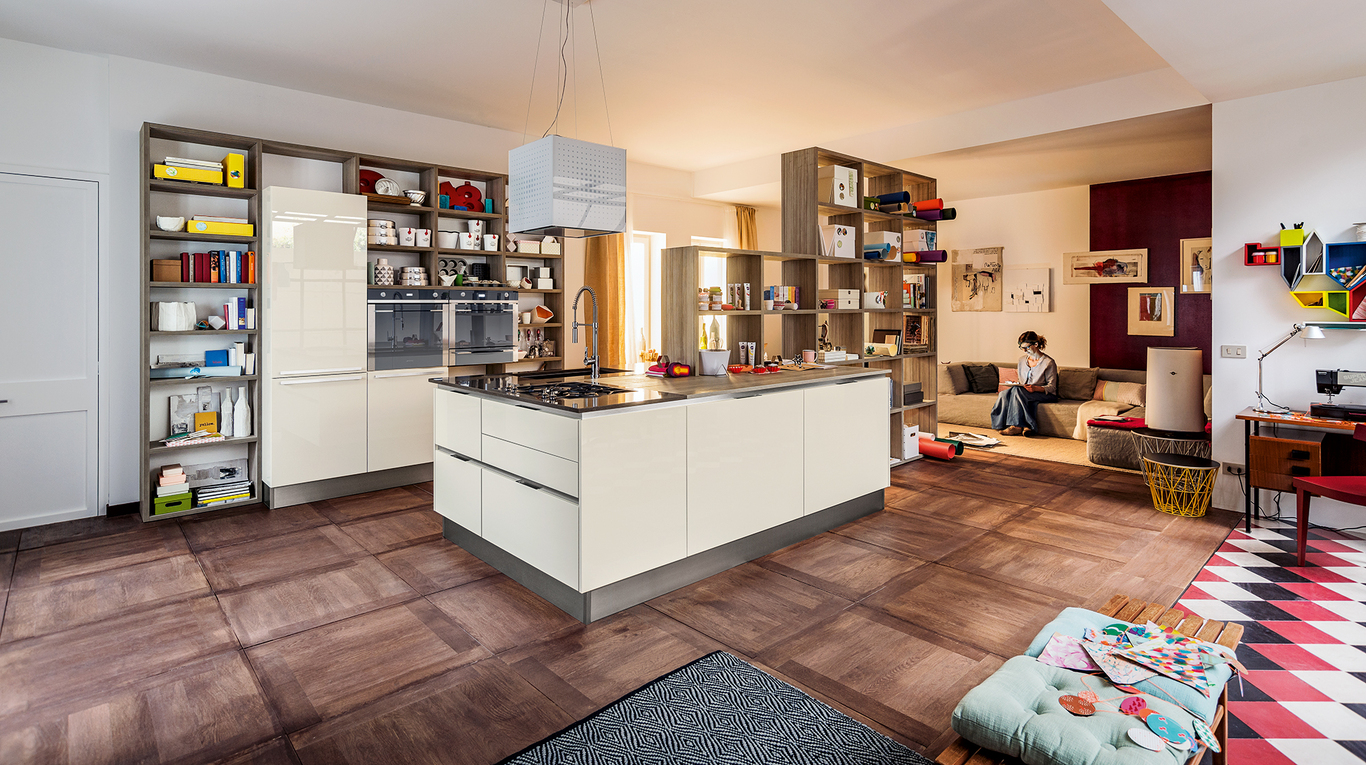 Esposizione cucine di design classiche e moderne pinerolo for Esposizione cucine