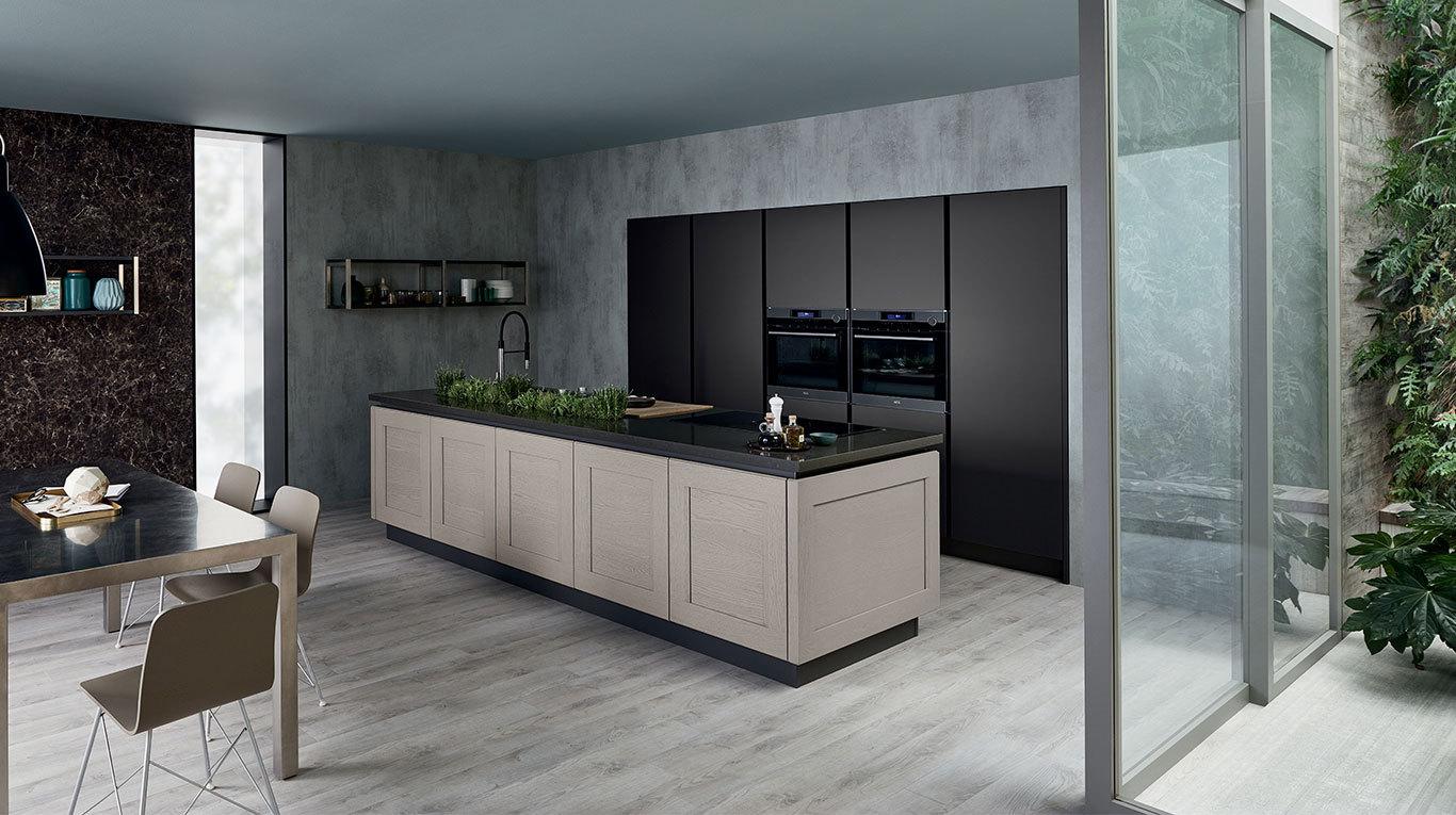 Cucine classiche e moderne veneta cucine pinerolo for Cucina contemporanea prezzi